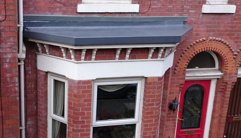 Small Bay Window Roof Replaced Altrincham Greater